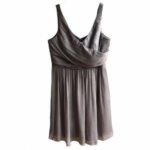 J. Crew Heidi 100% Silk Chiffon Knee Length Dress